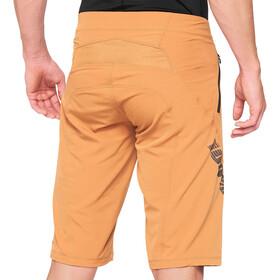 100% Airmatic Enduro/Trail Pantaloncini Uomo, marrone